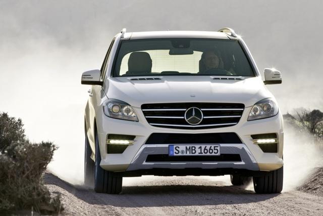 Mercedes M-Klasse - Der sparsame Enkel
