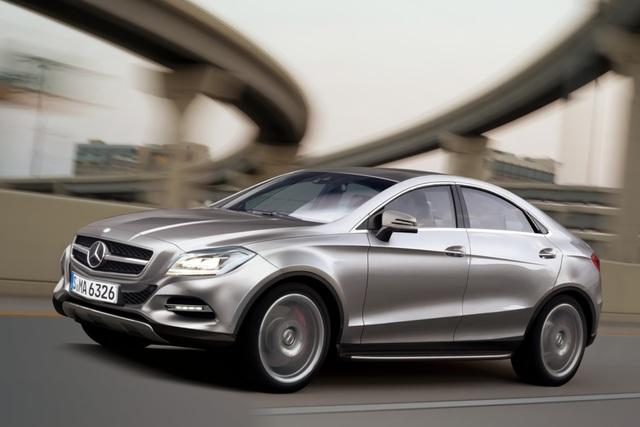 Mercedes MLC - Die M-Klasse in sportlich