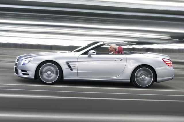 Mercedes SL 350 - Die richtige Dosis (Kurzfassung)
