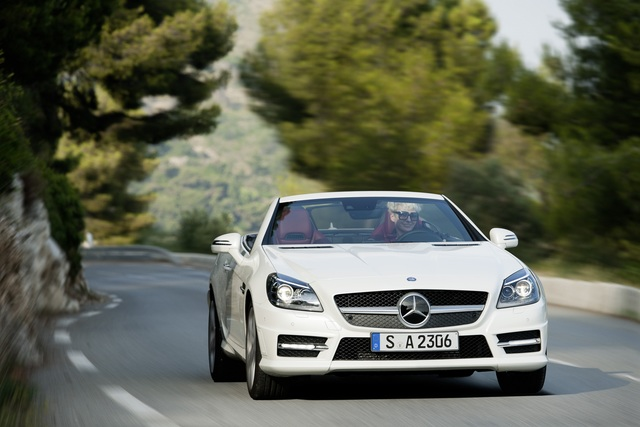 Mercedes SLK 250 CDI - Sparsam statt spaßarm