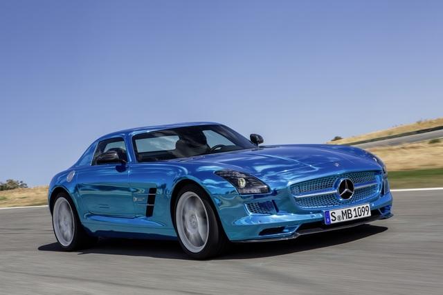 Mercedes SLS AMG Electric Drive - Mit vier Motoren an die Leistungsspitze