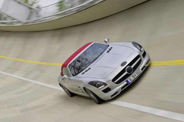 Mercedes SLS AMG Roadster - Alles andere als flügellahm
