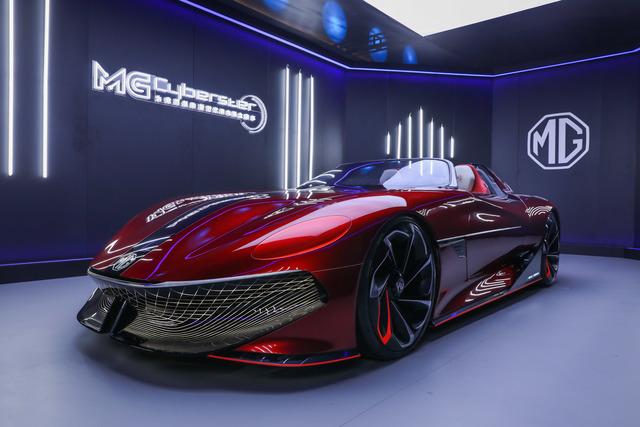 Elektro-Roadster MG Cyberster  - Extrem schnell, extrem weit