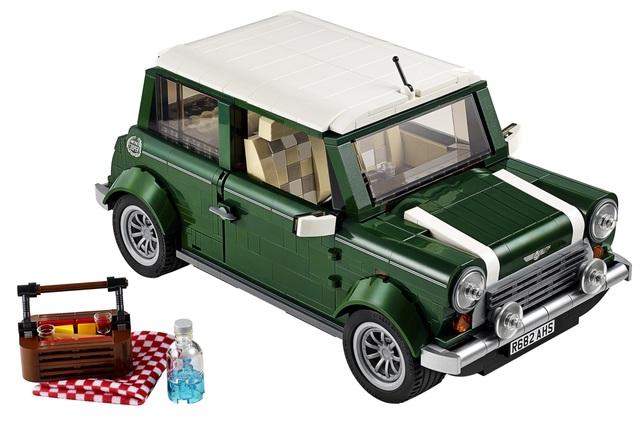 Lego Mini Cooper - Ein Traum in bunt