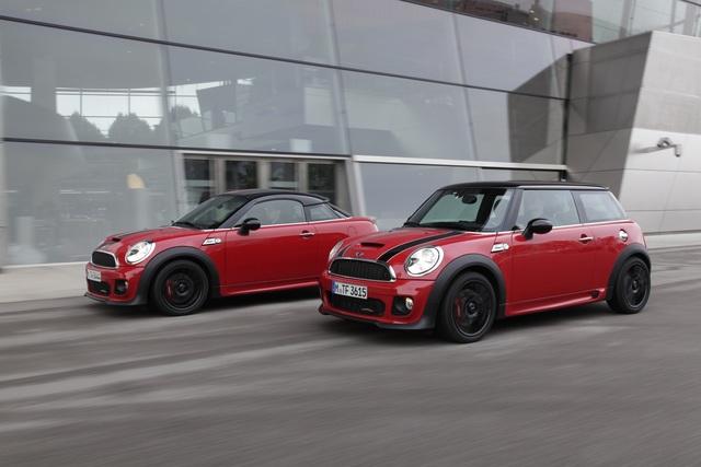 Mini vs. Mini Coupe - Der kleine Unterschied