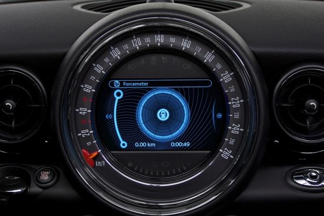 App für Mini-Fahrer - G-Kraft und gutes Wetter