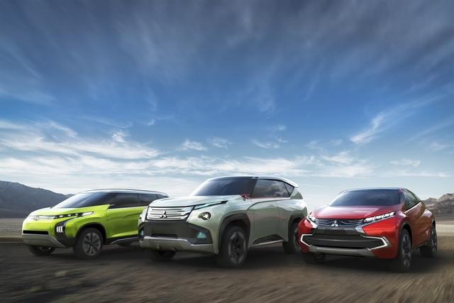 Mitsubishi auf der Tokyo Motor Show - Drei Hybride für alle Fälle