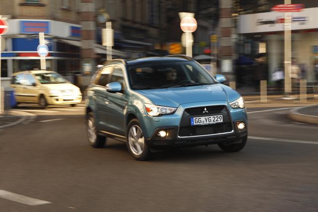 Mitsubishi zeigt in Genf neues SUV-Modell ASX