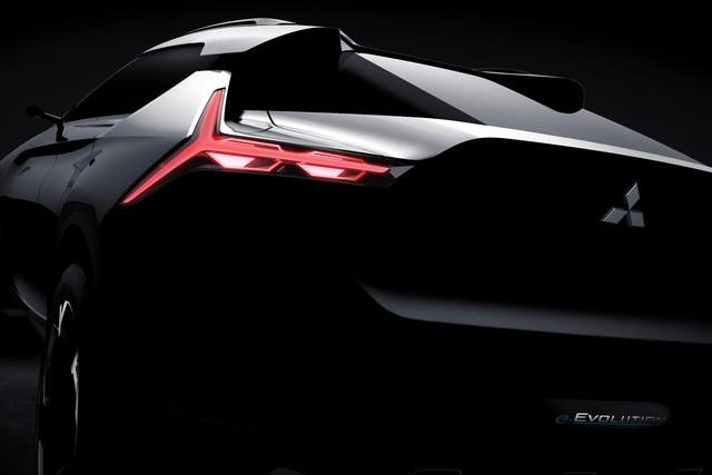 Mitsubishi E-Evolution Concept - Richtungs-weisend