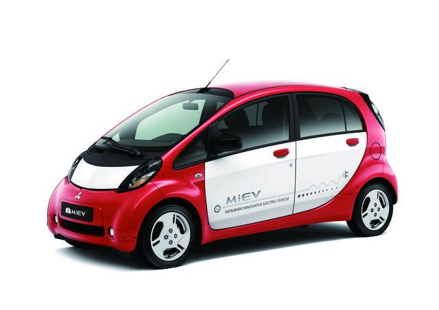 Mitsubishi i-Miev - Europa-Debüt in Paris