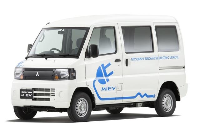 Mitsubishi Minicab-MiEV - Zum Laden und Beladen