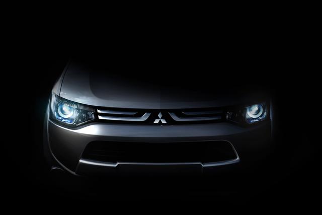 SUV-Premiere in Genf - Neues Design und neue Technik für Mitsubishi