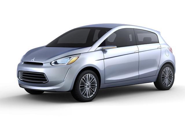 Mitsubishi-Studie - Kleinwagen für den Genfer Salon