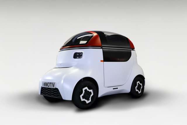 Gordon Murray Design Motiv  - Autozukunft im Zwergformat