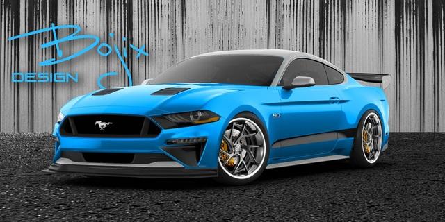 Ford Mustang auf der SEMA 2018 - Wilde Pferde in Vegas
