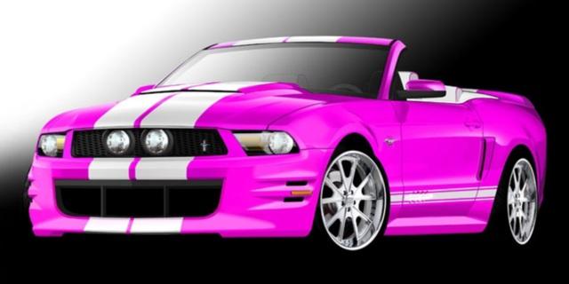 SEMA 2010 - Der rosarote Mustang