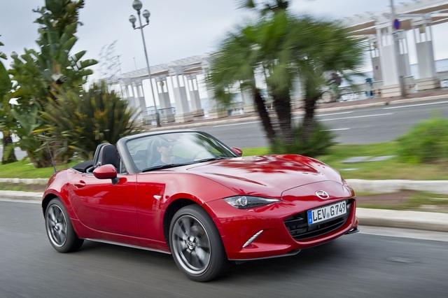 Mazda MX-5 - Sportprogramm für den Roadster