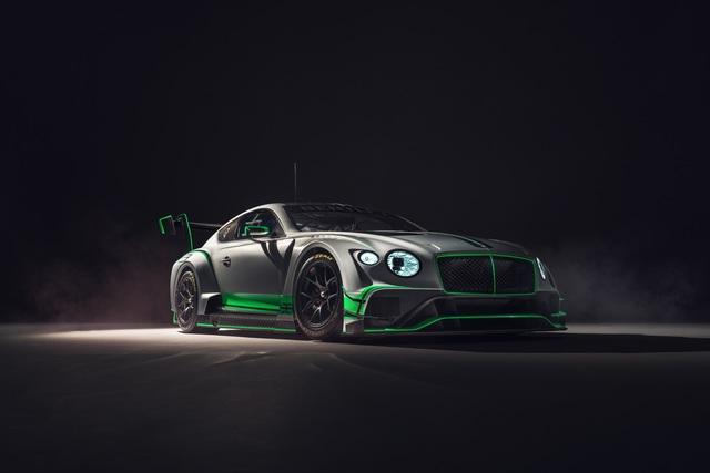 Bentley Continental GT3 - Sporttauglich nach strenger Diät