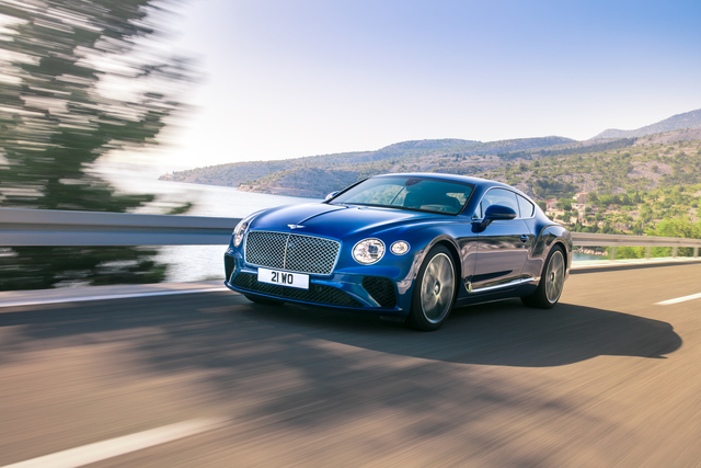 Bentley Continental GT - Luxus als Sport