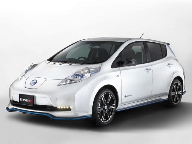 Nissan Leaf Nismo - Elektroauto unter Strom