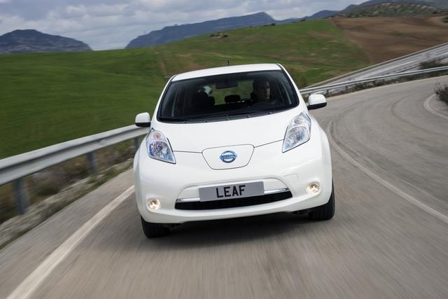 Nissan Leaf  - Leihwagen gegen die Reichweiten-Angst
