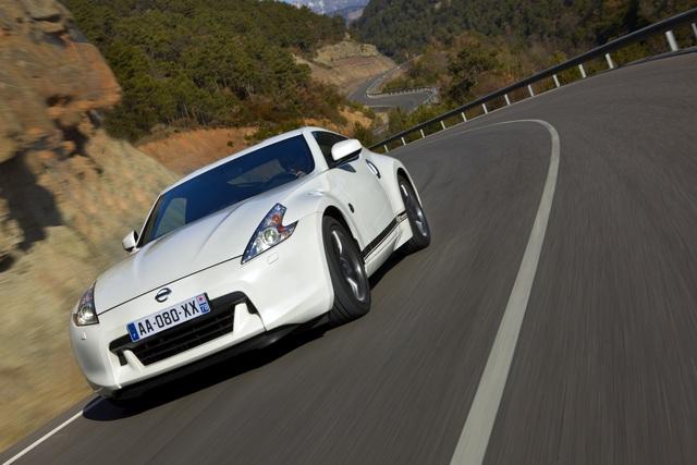 Nissan 370Z-Sondermodell - Rallyestreifen für den Nippon-Sportler