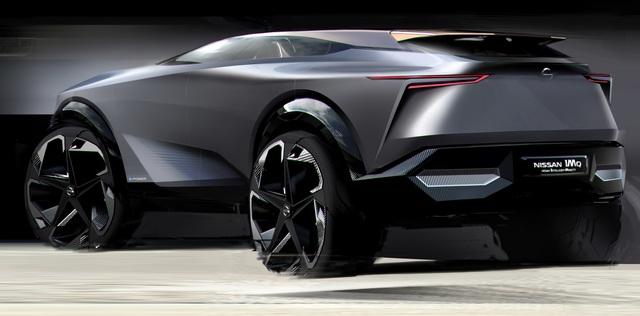 Nissan-Studie IMQ - Elektrische Qashqai-Vision