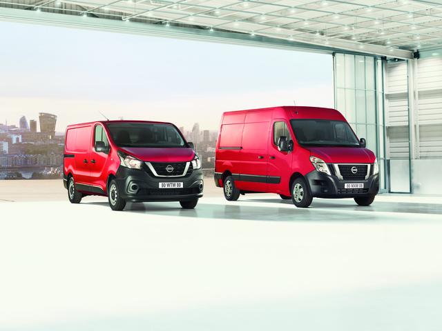Nissan NV300 und NV400  - Neue Antriebsoptionen und mehr Sicherheit