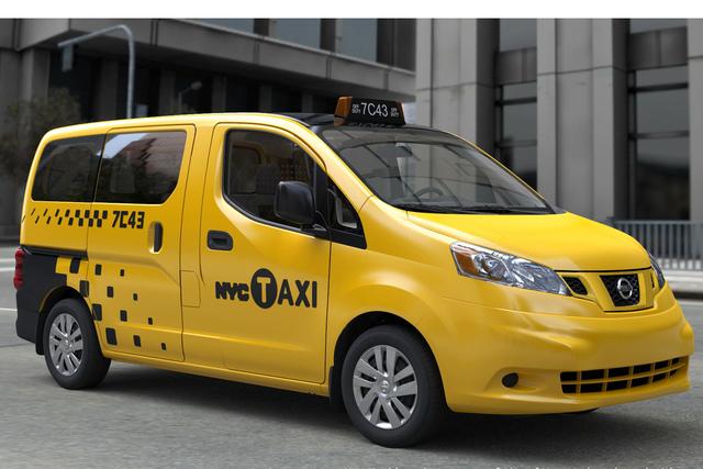 Nissan NV 200 Taxi - Yellow Cab aus Japan