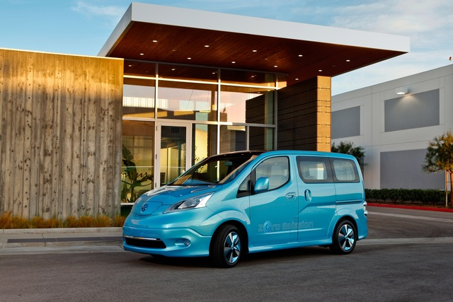 Nissan e-NV200 - Transporter mit grünen Genen