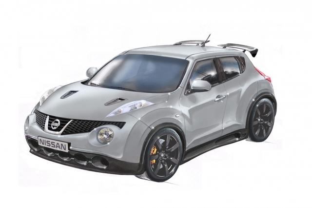 Nissan Juke - Schneller Seriensportler in Aussicht