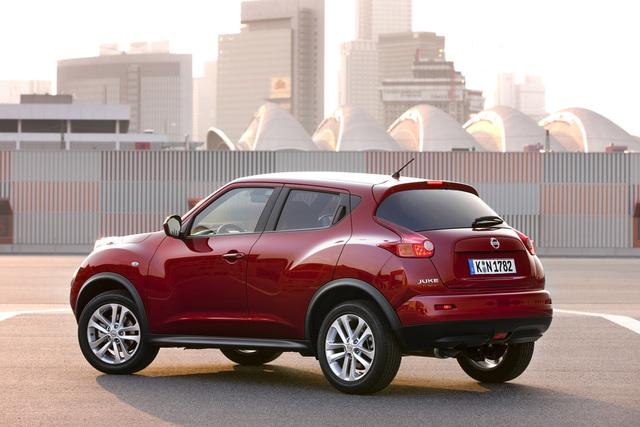 Nissan Juke: Selbstbewusste Erscheinung (Kurzbericht)