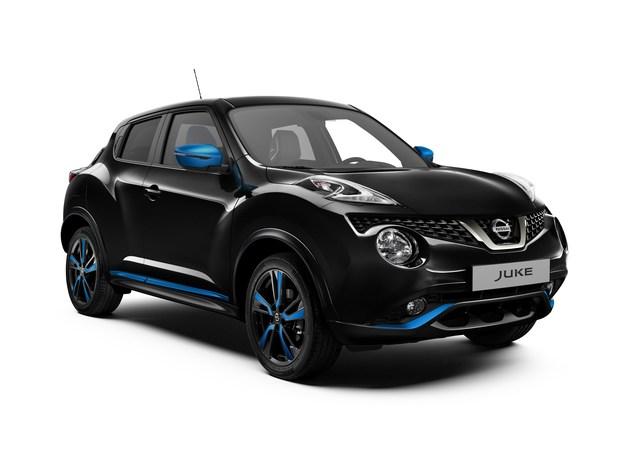 Nissan Juke im neuen Modelljahr  - Dunkles Chrom und bunte Farben
