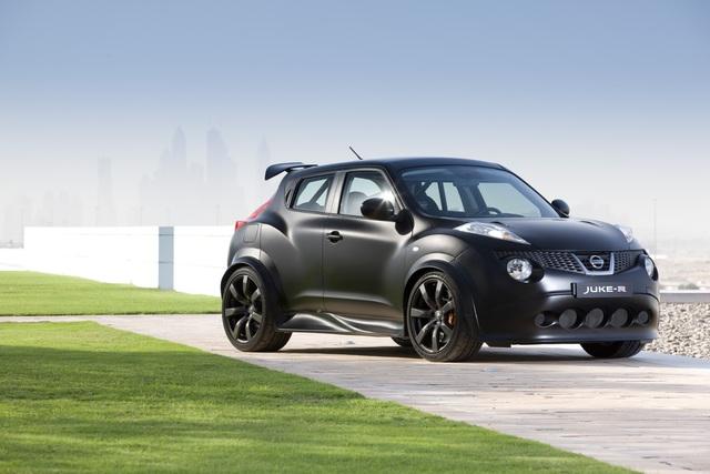 Nissan Juke-R - Lass juken, Kumpel