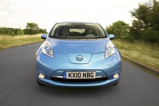 Nissan Leaf - Start in Europa