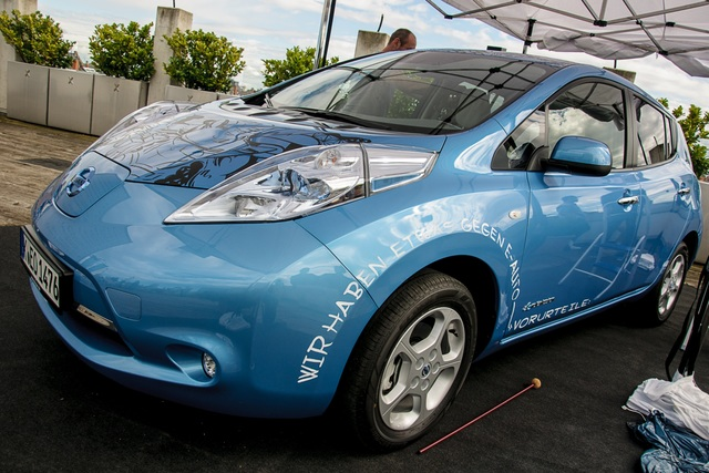 Ungewöhnlicher Praxistext mit dem Nissan Leaf - Gut gebloggt – E-Auto gewonnen