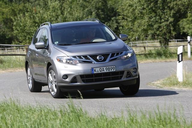 Nissan Murano - Mini-Modellpflege für das große SUV
