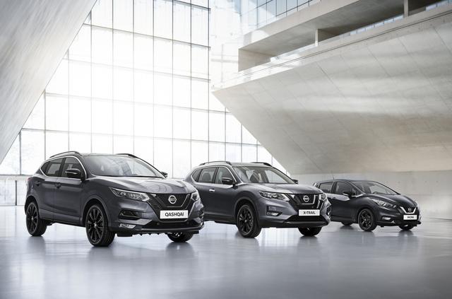 Nissan-Sondermodelle - In Schwarz mit Hightech