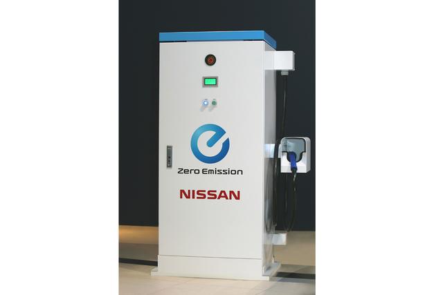 Nissan verkauft Schnellladestationen für Elektrofahrzeuge