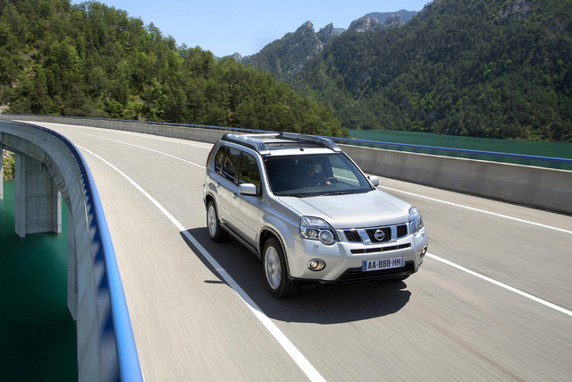 Nissan überarbeitet den X-Trail