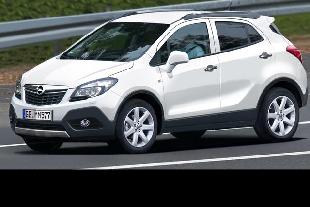 Opel Corsa SUV - Kleiner Kraxler kommt 2012