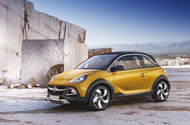 Opel Adam Rocks - Open-Air-Crossover für 16.000 Euro