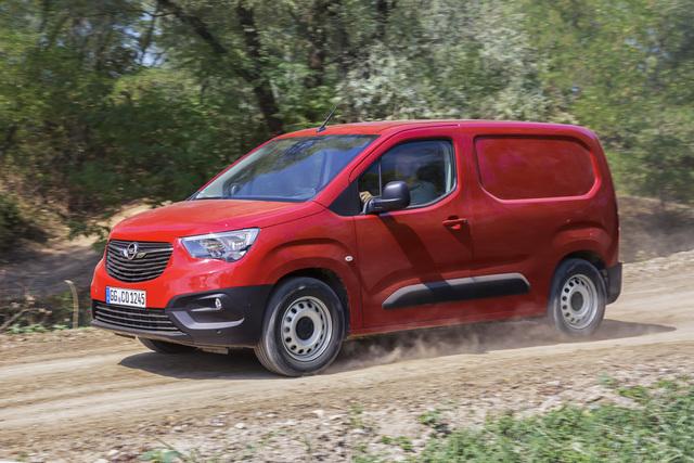 Opel Combo Cargo - Auch für schlechte Wege
