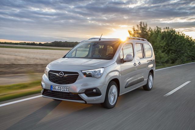 Opel Combo Life - Jetzt mit 130 PS-Benziner