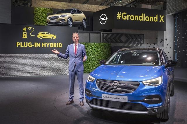 Opel Grandland X - Erster Plug-in-Hybrid aus Rüsselsheim