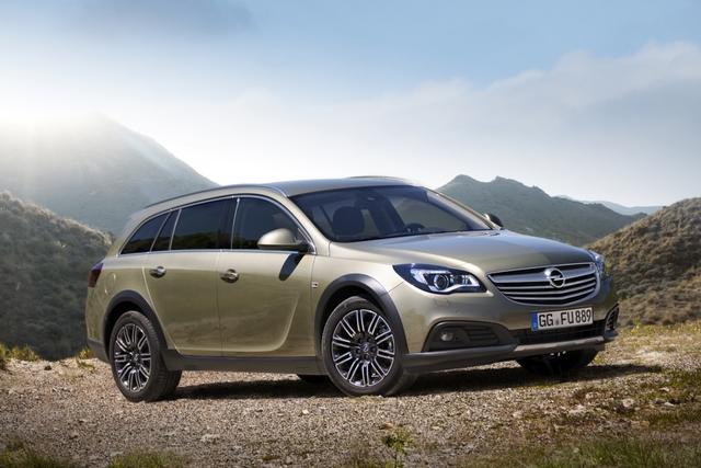 Opel Insignia Country Tourer - Der geht auch off road