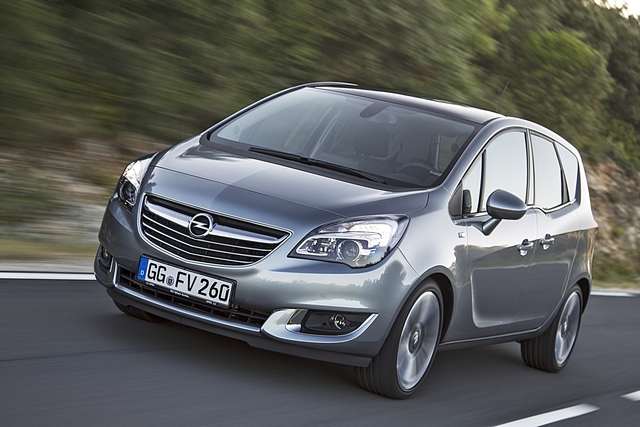 Opel Meriva Facelift - Der spart sich was (Vorabbericht)
