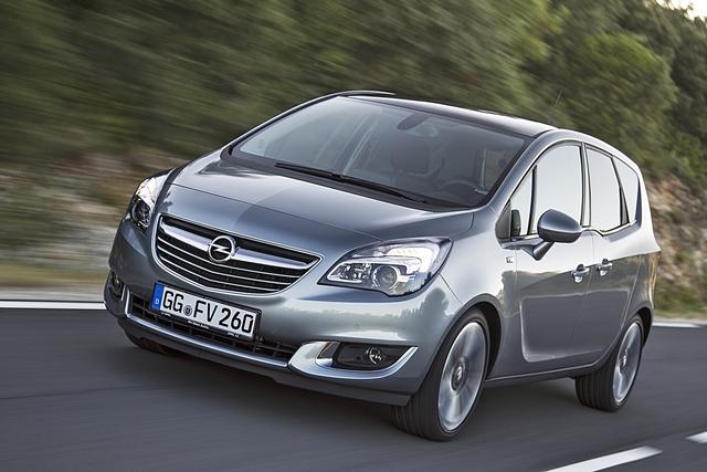 Opel Meriva - Preissenkung an der Basis