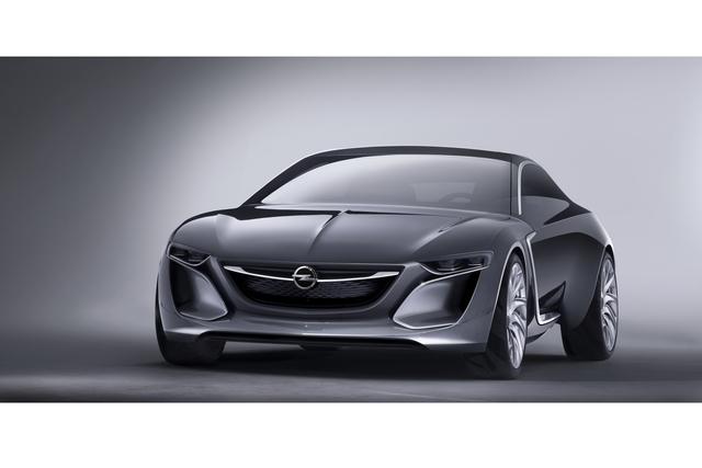 Opel Monza Concept -  Nach vorne
