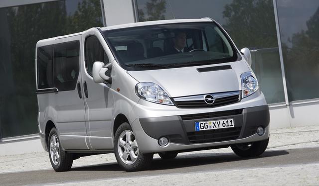 Opel Vivaro: Sparsamer unterwegs